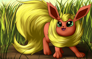 Flareon by Grennadder