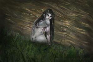 Swamp Selkie by MateusRocha