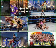 wwe all-star ps2 by charrytaker