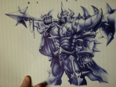 Mordekaiser from LoL by TheUglyBlowfly