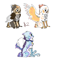 Owlette Adoptables :: by The-F0X