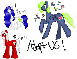 Adoptables Batch Sheet 1 by Born-Alive