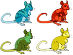 Rat Adoptables 3 by D-Boo-26