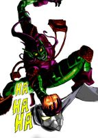 Green Goblin by SilverMetalDragon