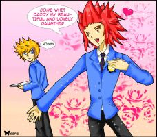 : Akuroku + Ouran : by sefie-ireth
