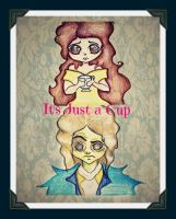 Rumbelle art ONCE by BunniBizzare