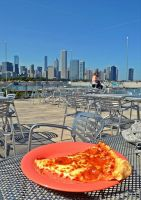 Pizza in Chicago! by MakyPospi