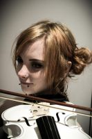 White Violin by dotphotography