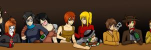 Fallout Groupshot by sweettartslover