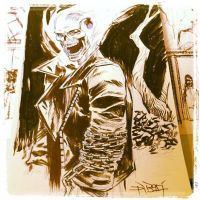 Ghost Rider commission by ChristianDiBari