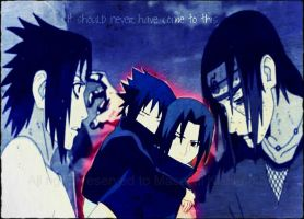 Itachi and Sasuke Edit by MidnightRoseofSorrow