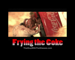 Frying the Coke by Fire-Warrioress