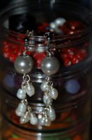 Pearl Dangles by saourealis