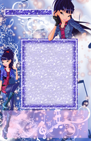 Musa Journal Skin +Blue+ by WinxSparkle