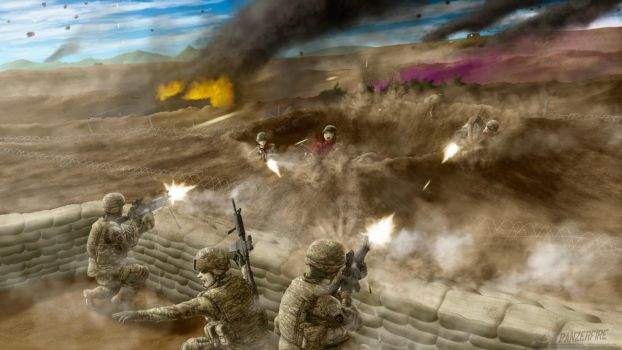 Breakthrough at the DMZ by Panzerfire