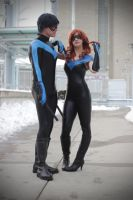 Cheyenne and Nightwing by tenleid