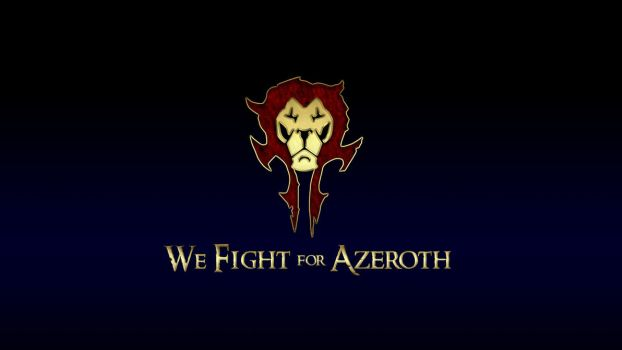 We Fight for Azeroth by deathonabun