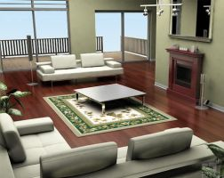 Living Room Option 2 by Liemn