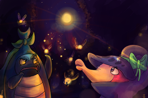 Team Bug Buzz: Fire Flies by Srarlight
