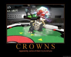 Brawl Demotivational: Crowns by Kingofsouls