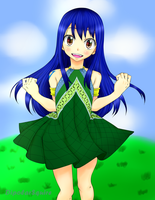 Fairy Tail Wendy by DipolarSquire