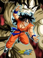 Yamcha Kai colored by BK-81