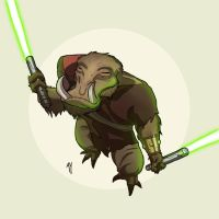Whiphid Jedi by Ryan-Rhodes