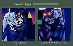 Draw this Again Challenge Entry by PD-Black-Dragon