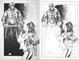 Rogue-Gambit_Commission by MichaelBair