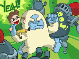 ANOTHER TEDDY THE YETI ADVENTURE by hyperboy