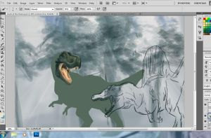 Clash of the Titans WIP by jennyraepip