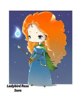 Merida ..is Brave by LadyBird-Rose