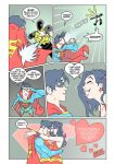 Superboy Luvs Wondergirl 2 by PlanetDann