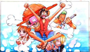 one piece by TioUsui