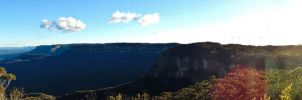 Blue Mountains by Ajumska