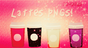 Lattes PNG's by Cande20