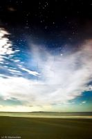 Beach Sky at Night by addr010