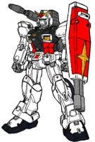 RX-78GV01 by swordoath