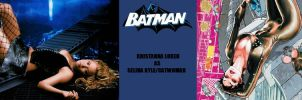 New Batman Fan Cast - Catwoman - Kristanna Loken by RobertTheComicWriter