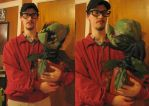 Seymour and Audrey 2 costume by stinkywigfiddle