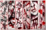 Bloody Bookmarks by Starjuice