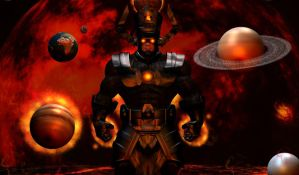 Black Hole Son Galactus by TheGeminiDream