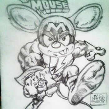 MEGA MOUSE by MartinSears70