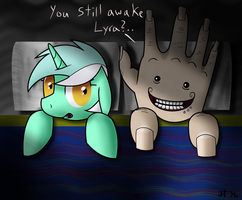Lyra: You still awake by Super-Zombie