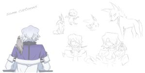 old drawings by Mawok666