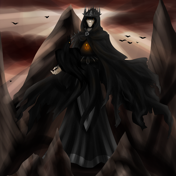The Sorcerer-King of Raven's Crown by Xovinx