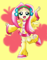 Fluttershy on Vocaloid by Carol-aredesu