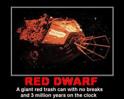 Red Dwarf - Red Dwarf Mother Ship by DoctorWhoOne