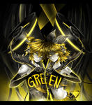 Vocaloids: GREEN is the enemy by hen-tie