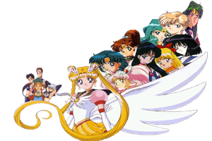 The Sailor Scouts by Fireflyhikari